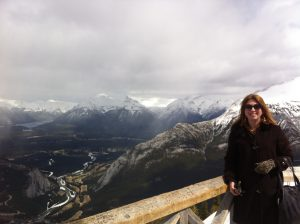 Grateful for the beauty of the Canadian Rockies