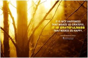 Lisa Ryan Chief Appreciation Strategist at Grategy, gratefulness makes us happy