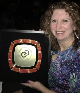 Lisa Ryan of Grategy with CBC Award